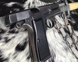 WWII German Inspected ,Slotted FN High Power, 9mm, Numbers match. - 7 of 16