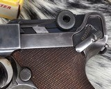 1920 DWM P08 Commercial Luger,.30 Luger, W/shoulder rig and extra magazine. - 5 of 14