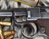 1920 DWM P08 Commercial Luger,.30 Luger, W/shoulder rig and extra magazine. - 4 of 14
