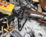 1920 DWM P08 Commercial Luger,.30 Luger, W/shoulder rig and extra magazine. - 14 of 14