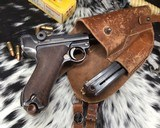 1920 DWM P08 Commercial Luger,.30 Luger, W/shoulder rig and extra magazine. - 2 of 14