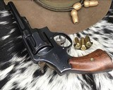 ID'ED Smith And Wesson model 1917 Revolver, .45 acp - 16 of 17