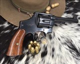 ID'ED Smith And Wesson model 1917 Revolver, .45 acp - 1 of 17