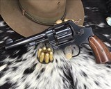 ID'ED Smith And Wesson model 1917 Revolver, .45 acp - 2 of 17