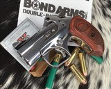 Bond Arms Grizzly Derringer, .45/.410 Ga, Polished Stainless - 5 of 8