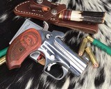 Bond Arms Grizzly Derringer, .45/.410 Ga, Polished Stainless - 1 of 8