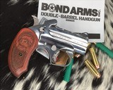 Bond Arms Grizzly Derringer, .45/.410 Ga, Polished Stainless - 8 of 8