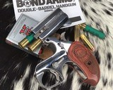 Bond Arms Grizzly Derringer, .45/.410 Ga, Polished Stainless - 4 of 8