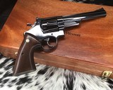 1956 Smith and Wesson Pre-29, .5 Screw, 44 magnum, 6.5 inch W/ Presentation Case - 21 of 25