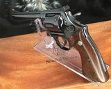 1956 Smith and Wesson Pre-29, .5 Screw, 44 magnum, 6.5 inch W/ Presentation Case - 23 of 25