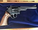 1956 Smith and Wesson Pre-29, .5 Screw, 44 magnum, 6.5 inch W/ Presentation Case