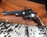 1956 Smith and Wesson Pre-29, .5 Screw, 44 magnum, 6.5 inch W/ Presentation Case - 4 of 25