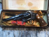 Smith and Wesson 1950 Model 45 Target, Pre-26 ,W/Orginal Box - 10 of 25