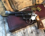 Smith and Wesson 1950 Model 45 Target, Pre-26 ,W/Orginal Box - 12 of 25