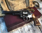Smith and Wesson 1950 Model 45 Target, Pre-26 ,W/Orginal Box - 7 of 25