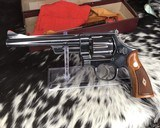 Smith and Wesson 1950 Model 45 Target, Pre-26 ,W/Orginal Box - 16 of 25