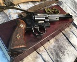 Smith and Wesson 1950 Model 45 Target, Pre-26 ,W/Orginal Box - 8 of 25