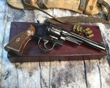 Smith and Wesson 1950 Model 45 Target, Pre-26 ,W/Orginal Box - 5 of 25