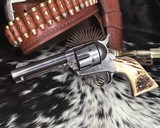 1910 First Generation Colt Single Action Army, .45 Colt, 4 3/4 inch. - 11 of 25