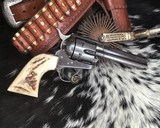 1910 First Generation Colt Single Action Army, .45 Colt, 4 3/4 inch. - 4 of 25