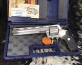 1993 colt anaconda, 8 inch, stainless .44 magnum, boxed