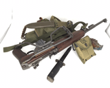 WWII Inland M1A1 Carbine Paratrooper W/case - 2 of 24