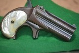 Remington Derringer O|O 41 antique type 3 2nd issue