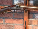 16 Bore Joeseph Manton Percussion Converted Double Barrel Sporting Gun