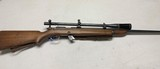 Winchester model 52 .22 caliber target rifle with Lyman target spot scope