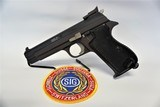 Sig Sauer Sigarms P 210-6 9 mm pistol - 1 of 7