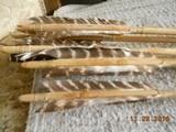 Native American Style Bow & Arrows w/ Quiver - 10 of 12