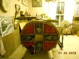 Authentic Native American Style Drum - 2 of 9
