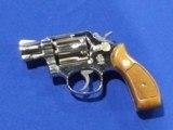 S & W Model 10-7 2 inch Nickel