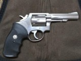 S & W Model 65-2 4 inch Stainless 357