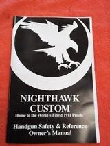 NIGHTHAWK CUSTOM DOMINATOR 45 ACP - 14 of 15
