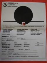 NIGHTHAWK CUSTOM DOMINATOR 45 ACP - 15 of 15