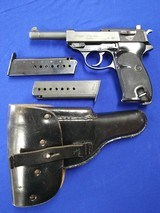WALTHER P1 9MM with Holster and 2 Mags