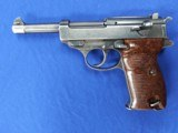 """1943 WWII Nazi """"SPREEWERKE"""" cyq P38 Pistol With Holster, Spare Mag, serial number 2020 - 1 of 15"""