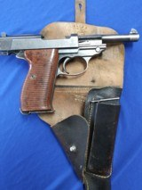 """1943 WWII Nazi """"SPREEWERKE"""" cyq P38 Pistol With Holster, Spare Mag, serial number 2020 - 15 of 15"""
