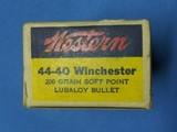 WESTERN 44-40 AMMO - 7 of 9