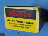 WESTERN 44-40 AMMO - 6 of 9