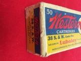 WESTERN 38 S&W AMMO - 3 of 8
