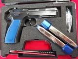 CZ-75 SP-01 BLUE 9MM