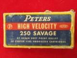250 Savage ammo