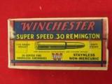 Winchester 30 Remington ammo