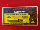 Winchester 300 Savage ammo