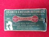 35 S & W Automatic ammo