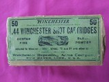 Winchester 44 Shot