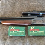 SAVAGE MODEL 24, BEST COMBO ,222REM over 20GA with 2 boxes of AMMO, LYMAN SCOPE