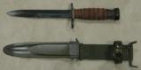 WWII U.S. M4 Camillus Bayonet & US M8A1 PWH Scabbard - 2 of 4